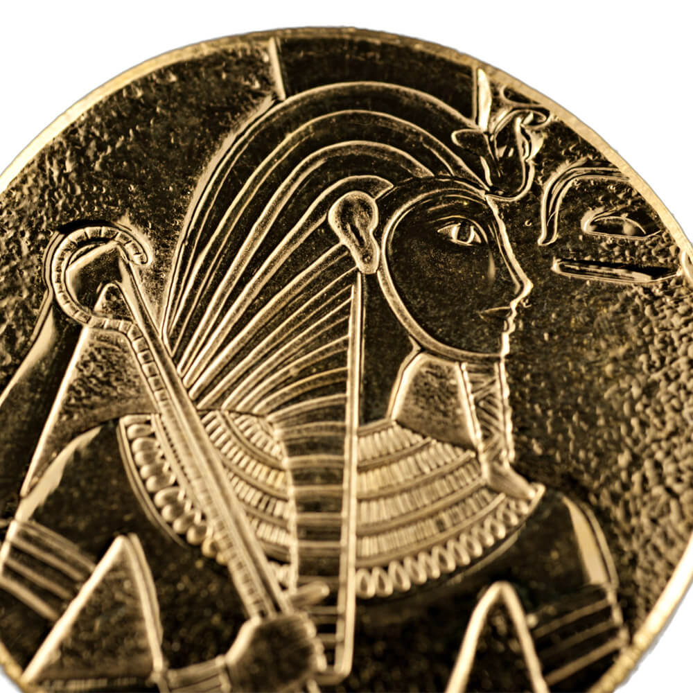 Republic of Chad Gold King Tut Coin 1oz